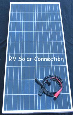 130 Watt Portable Solar Battery Charging System Rv Solar