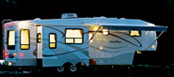 Lighted 5th Wheel