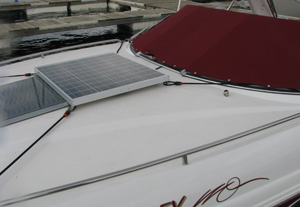 65 Watt Kyocera on a boat