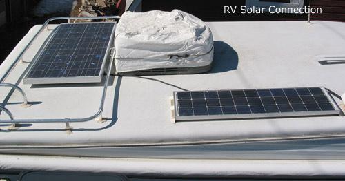 Roof Mounted Solar Array Rv Solar Connection Denver